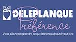 Deleplanque Préférence logo