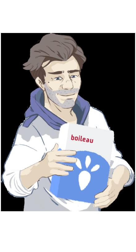 Visuel variété boileau