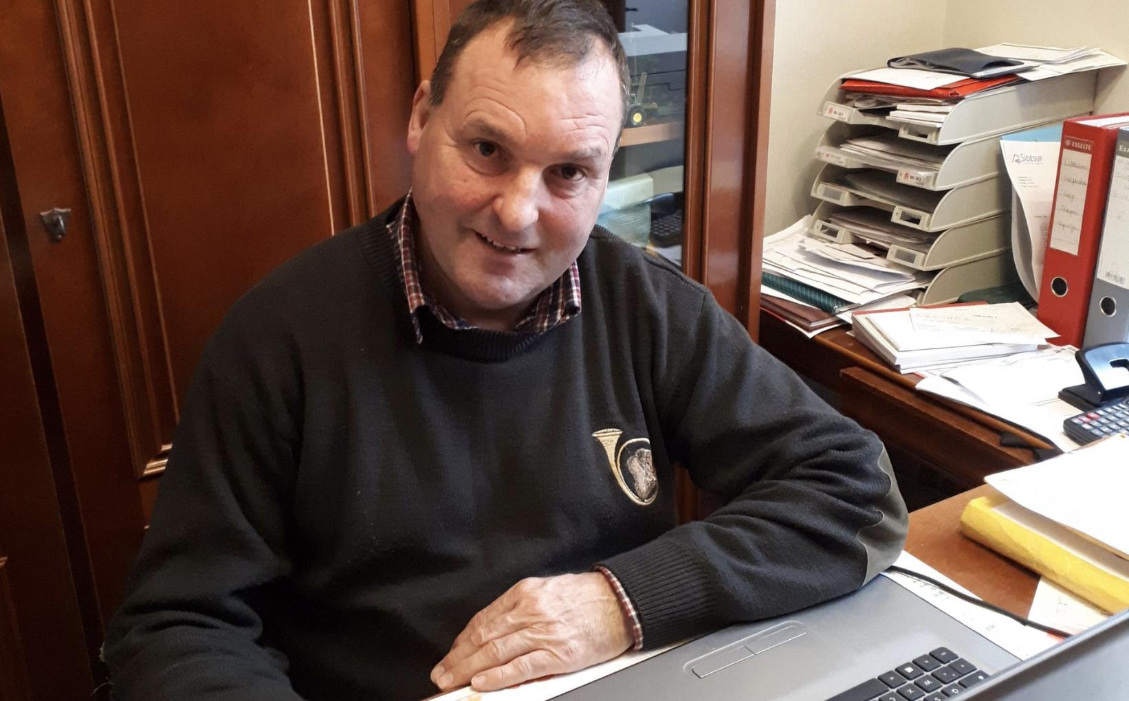 Eric Chassinat , agriculteur à Courcelles le Roi (45) nous parle de sa récolte de Curie